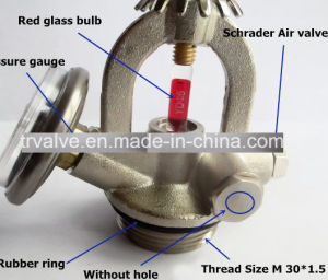 Automatic Extinguishing Valve/Hanging Fire Sprinkler Valve