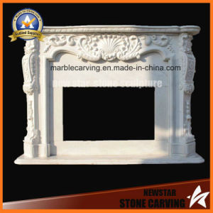 Marble Fireplace Surround Fireplace Mantel pictures & photos