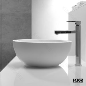 Hotel Sink Solid Surface Above Counter Wash Basin pictures & photos
