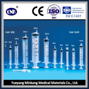 Medical Disposable Syringes, with Needle (5ml) , Luer Slip, with Ce&ISO Approved pictures & photos