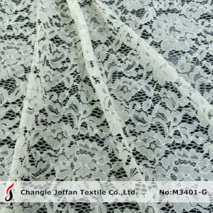 Fashion Wedding Lace Thick Lace Fabric (M3401-G) pictures & photos