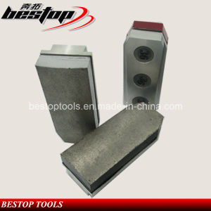 L135mm Trapezoid Stone Grinding Fickert for Granite Slab Rough Polishing pictures & photos