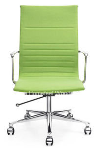 Eames Aluminium Leather Office/Hotel Visitor Conference Meeting Chair (HF-CH152A1) pictures & photos