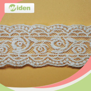 Fashion Style Lace Floral Lace Patterns Net and Organza Lace Trim pictures & photos