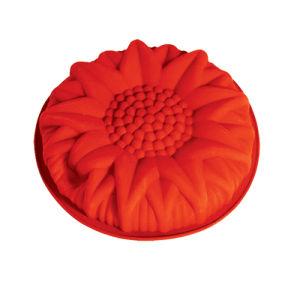 LFGB Customized Colorful Flower Silicone Cake Mould pictures & photos