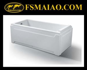 Contemporary Style Freestanding Acrylic Simple Bathtub (BA-8702) pictures & photos