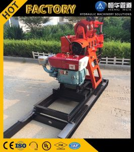 Factory Supply Crawler Wheels Type Small Water Well Drilling Rig pictures & photos