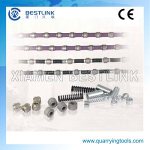 Top Quality Diamond Saw Cutting Wire for Block and Concrete pictures & photos