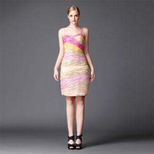 2016 Multicolor Mini Short Dress Evening Dress