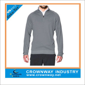 Wholesale Mens Outdoor Lightweight Sweater Fleece Golf Shirts pictures & photos