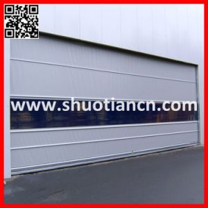 Industrial PVC Rapid Roll Door/Fast Automatic Rolling Shutter Door (ST-001) pictures & photos