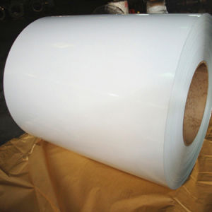 White Grey Color Coated PPGL Steel Coil for Building Material pictures & photos