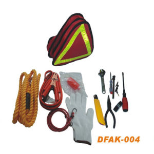 Auto Emergency Breakdown Roadside Car Tool Kit (DFAK-003) pictures & photos