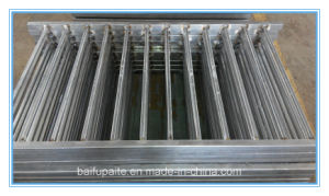 China Factory Galvanized Wrought Iron Fence Design