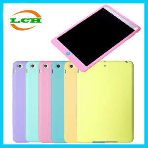 Simple Soft Silicone Back Cover Case for iPad pictures & photos