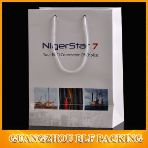 China Recycled Custom Printed Paper Bags (BLF-PB038) pictures & photos