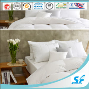 Hangzhou Bedding Factory Fiber Feather Quilted Pillow Set pictures & photos
