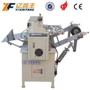 Automatic Label Paper Roll to Sheet Cutting Machine