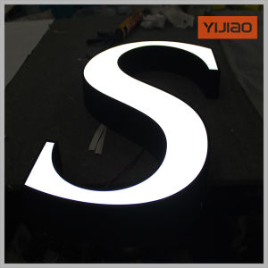Face Lighted LED Acrylic Outdoor Sign Board pictures & photos