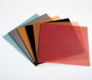 Tempered Colorful Painted Glass with AS/NZS2208: 1996, BS6206, En12150 Certificate pictures & photos