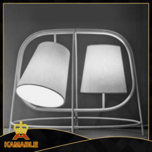 Simple Style Iron Fabric Table Light (KAMT4334-2) pictures & photos