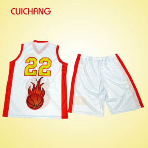 Breathable Polyester Sports Suit Basketball Uniforms Professional Club and Team Player Basketball Uniforms