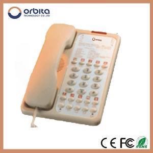 High Quality Top Security Hotel Telephone Guestroom SIM Card Desk Phone pictures & photos