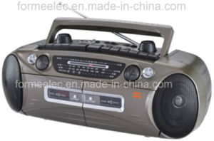 Cassette Recorder Cassette Player with Radio FM MW Sw pictures & photos