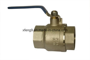 Dn65pn25 Female Brass Ball Valve pictures & photos