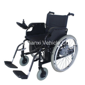 Elderly or Disablely Smart Electric Folding Wheelchair pictures & photos