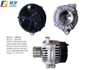 Alternator for Ievco OE# 0123525502, 0123525500 Iveco 2995980 Lester 12590 pictures & photos