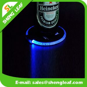 Promotional LED Custom Acrylic Coaster (SLF-LC016) pictures & photos