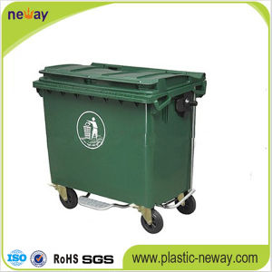 660L Eco-Friendly Plastic Outdoor Dustbin pictures & photos
