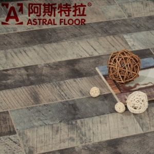12mm (V-Groove) Antique Style HDF New Product Laminate Flooring (AS5515) pictures & photos
