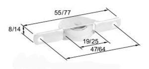 Middle East Type Roller R8026 for Aluminum Door & Window pictures & photos