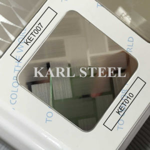 High Quality 410 Stainless Steel Color Ket010 Etched Sheet pictures & photos