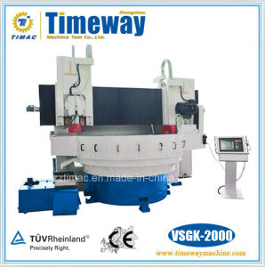 Numerical Control Double Column Gantry Round Table Surface Grinder with Horizontal and Vertical Shaft pictures & photos