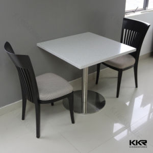china solid surface marble top restaurant dining table china dining tables restaurant dining. Black Bedroom Furniture Sets. Home Design Ideas