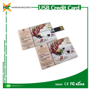 Standard Credit Card USB Flash Drive USB 2.0 Driver pictures & photos