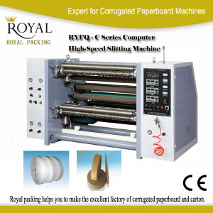 Ryfq-C Model Slitting and Rewinding Machine pictures & photos