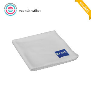 White Silk Screen Print Microfiber Cloth pictures & photos
