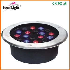 Outdoor IP66 18*1W LED Underground Light for Garden pictures & photos