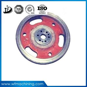 Commercial Spin Bikes Large Zinc Sand/Iron Flywheel with OEM Servies pictures & photos