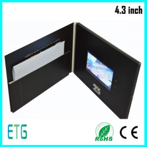 "4.3"" Have Earphone Video Greeting Card, Video Card pictures & photos"