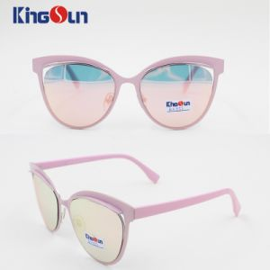 2016 New Fashion Lady′s Sunglasses Female Two Plating Colors Ks1153 pictures & photos