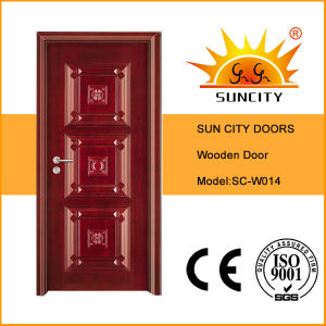 Home Antique Design Complicated Carving Wooden Door (SC-W014) pictures & photos