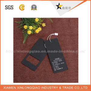 Hight Quality Professional Free Design Custom Skirt Hang Tag pictures & photos