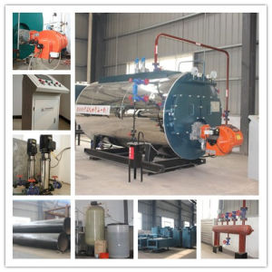 5000kg/H Natural Gas Burned Hot Selling Steam Boiler with PLC Touch Screen pictures & photos