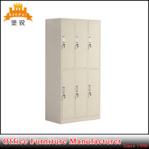 Jas-028 China Manufacture Steel Gym Clothes Storage Metal Wardrobe pictures & photos