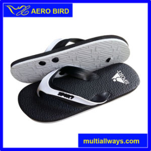 African Double Color Strap and Sole Slippers (15I341)